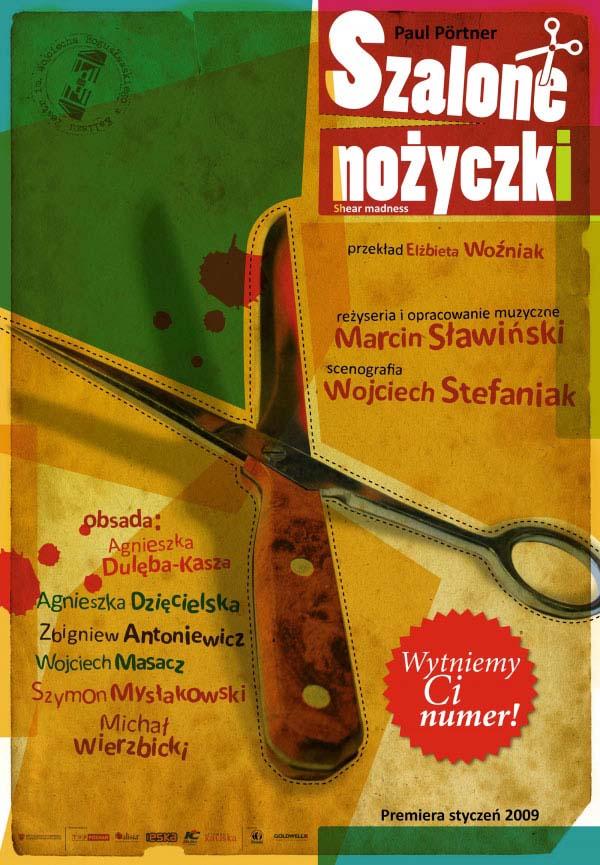 """Spektakl """"Szalone nożyczki"""" @ pl. Bogusławskiego 1"""
