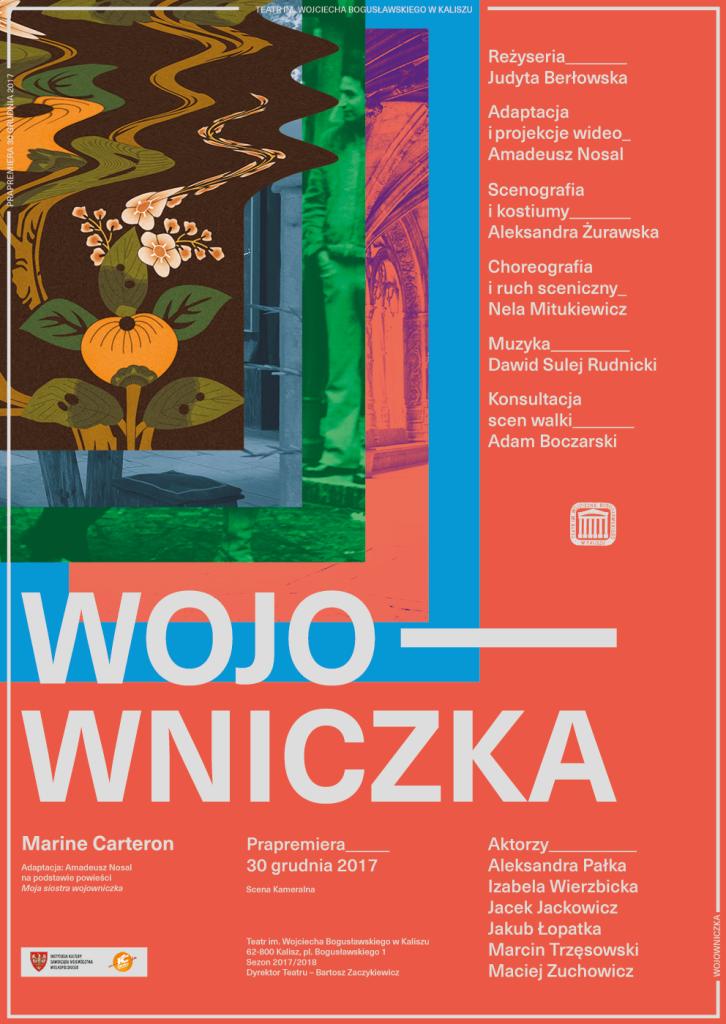 """Spektakl """"Wojowniczka"""" @ pl. Bogusławskiego 1"""