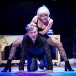 Zdjęcie ze spektaklu Prosna kryminał muzyczny. Scena zbiorowa.